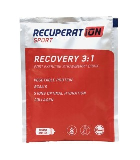 Recuperat-ion Recovery 3:1 12 Sticks Strawberry flavour
